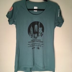 North Face 2016 NYC🍎endurance challenge t-shirt